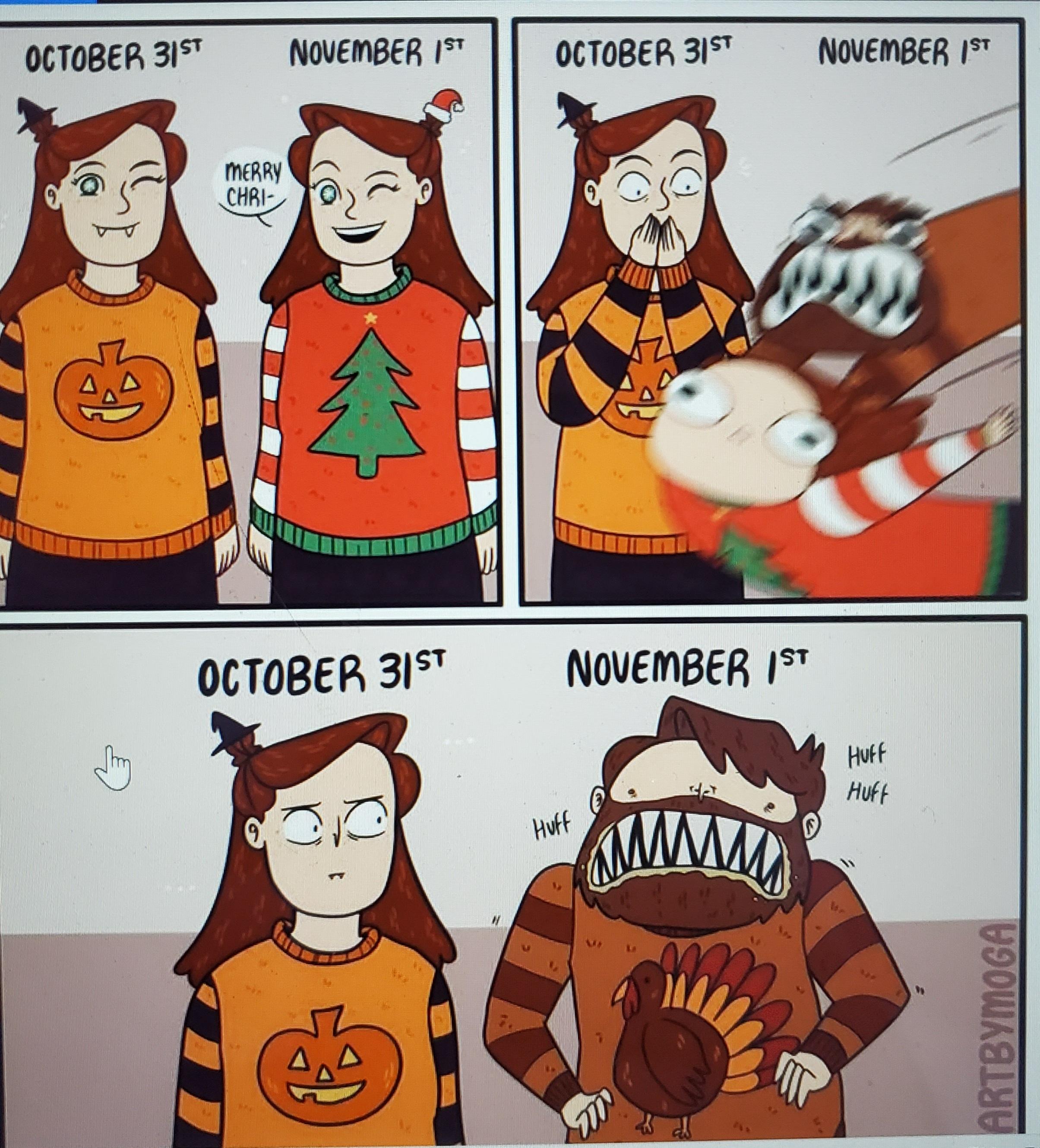 holiday comic